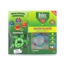 Relec Pulsera Antimosquitos Click Clack Tortuga