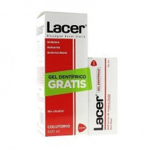 Lacer Colutorio 500ml + REGALO* Lacer Gel 35 mL
