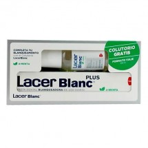 Lacer Blanc Plus Pasta Menta 150 mL + Regalo* Colutorio 100 mL