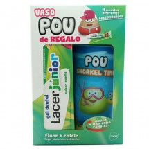 Lacer Junior Gel Menta 75 mL + Vaso Pou de Regalo*