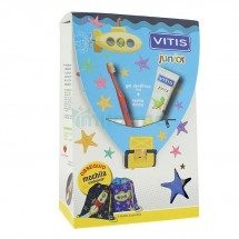 Vitis Junior Gel Dentifrico 75 mL + Cepillo Dental *Regalo Mochila Vitisaurus