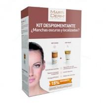 Martiderm Kit Despigmentante Manchas Oscuras DSP-Cover Stick 4 mL + Dsp Mask 30 mL