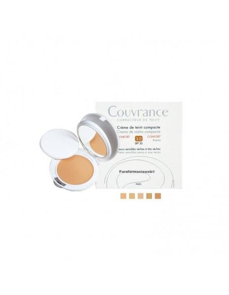 Avene Couvrance Crema Compacta Oil Free 10g