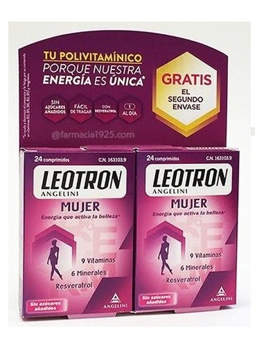 Leotron Mujer 2 X 1 30 + 30 Comprimidos