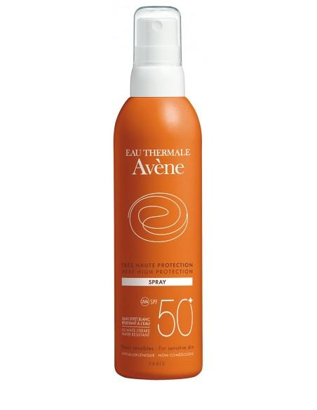 Avene Loción Fps 50+ Spray 200ml + Regalo* Avene Gel de Ducha 100 mL