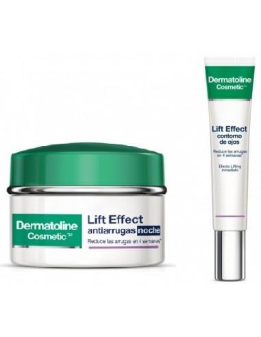 Dermatoline Lift Effect Antiarrugas Noche 50 mL + Dermatoline Lift Effect Contorno de Ojos 15 mL