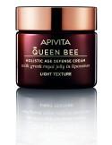 Apivita Queen Bee Crema Antienvejecimiento Holistica Ligera con Jalea Real Liposomada 50 Ml