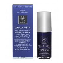 Apivita Aqua Vita Serum Hidratante y Revitalizante con Agnocasto y Acido Hialuronico 30Ml