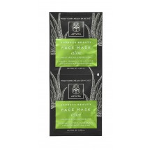 Apivita Express Beauty Mascarilla Hidratante Refrescante Aloe 2 X 8Ml