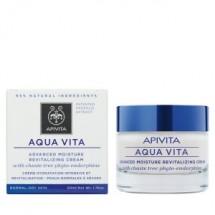 Apivita Aqua Vita Crema Pieles Normales/Secas con Agnocasto Y Miel 50 Ml