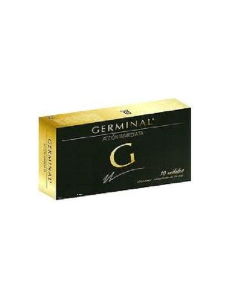 Germinal Accion Inmediata 10ampollas