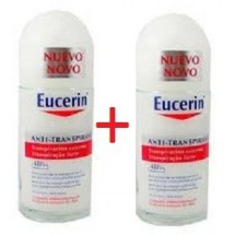 Eucerin Desodorante Anti Transpirante 48h Roll On 2x50ml