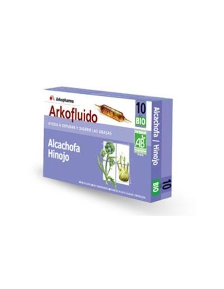 Alcachofa Hinojo Arkofluido 20 Ampollas