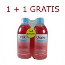 ORALKIN ENJUAGE BUCAL ANTISEPTICO 2 X 500ML