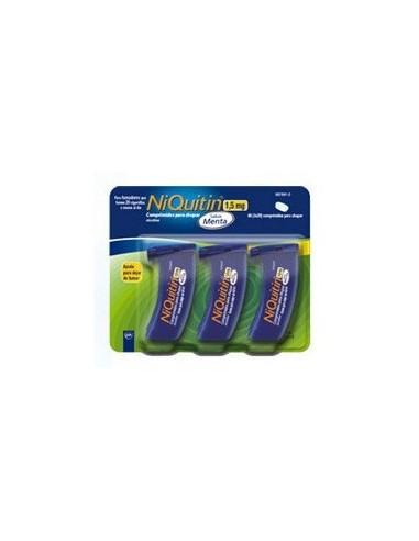 NIQUITIN MENTA 1,5 MG 60 COMPRIMIDOS (3x20)