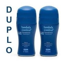 Lambda Control Desodorante Roll-on Con Alcohol 2 x 50ml