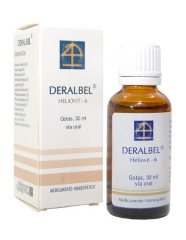HELIOSAR SPAGYRICA DERALBEL GOTAS 30 ML