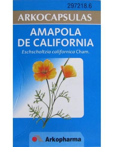 ARKOCAPSULAS AMAPOLA DE CALIFORNIA 240MG 50 CAPSULAS