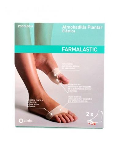FARMALASTIC ALMOHADILLA ELASTICA PLANTAR TALLA  36-38