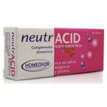 NEUTRACID 40 COMPRIMIDOS SABOR FRESA