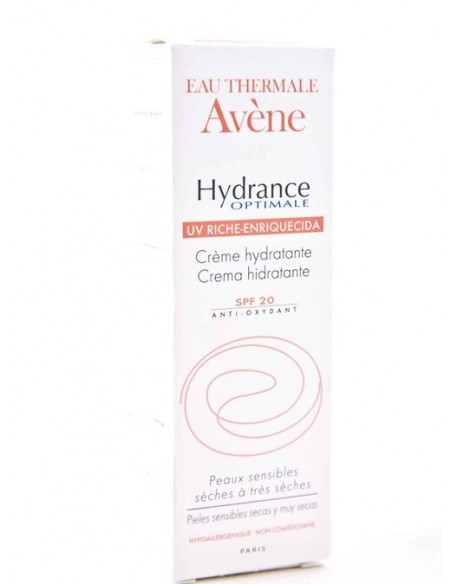 Avene Hydrance Optimale Enriquecida SPF 20 40ml + Mobile Box Regalo*