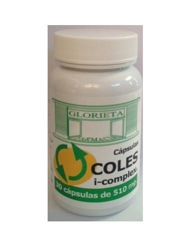 Farmacia Glorieta Coles i-complex 30 capsulas