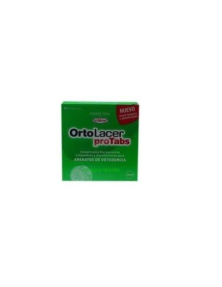 Lacer Protabs Limpiador Ortodoncias 20comprimidos