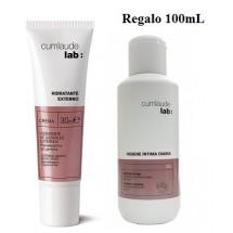Cumlaude Hidratante Externo Crema 30ml + REGALO Gel Higiene Intima Diaria 100mL*