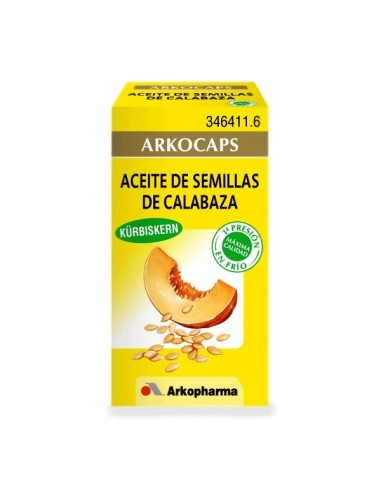 Arkopharma Aceite de Semillas de Calabaza 50 Cápsulas