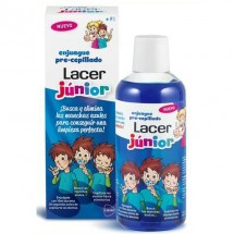 Lacer Junior Enjuage Pre Cepillado 500 mL
