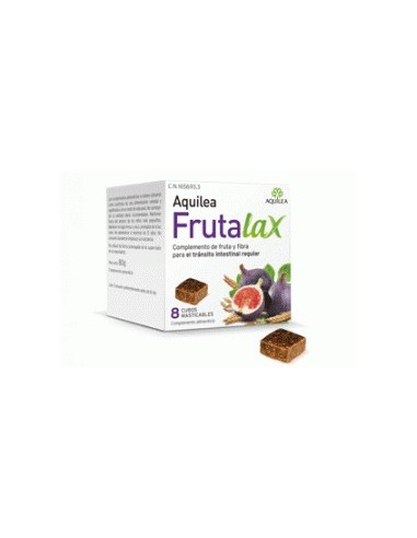 Aquilea Frutalax 8 cubos masticables