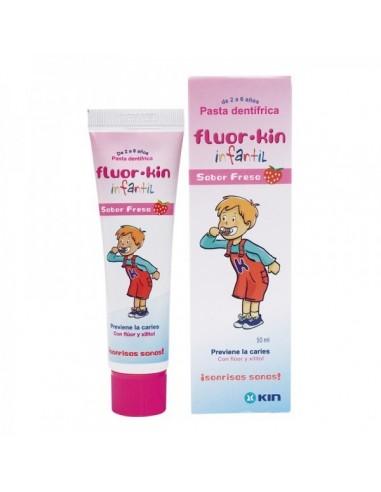 Fluor Kin Infantil Pasta Fresa 50 ml