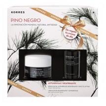 Korres Pino Negro Crema Piel Normal / Mixta 40 mL + Serum Pino Negro 15 mL