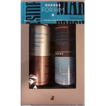Korres For Him  Absenta Espuma de Afeitar 150 mL+ Calendula Ginseng Balsamo After Shave 200 mL
