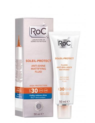 Roc Soleil-Protect Fluido Matificante Anti Brillos 50 mL