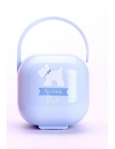 Suavinex Portachupetes Scottish Azul