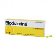 Biodramina  50 mg 12...