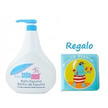 Sebamed Baby Baño Espuma 1000ml + REGALO* Libro Para el Baño