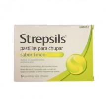 Strepsils Limon Sin Azucar 24 Pastillas