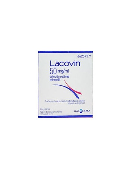 Lacovin 5%  Solucion Cutanea 2 X 60 ml