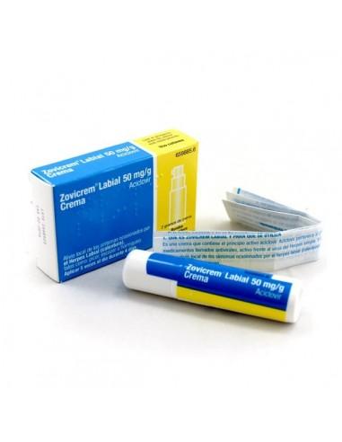 Zovicrem Labial con Dosificador 2g