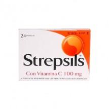 Strepsils Vitamina C 24 Pastillas