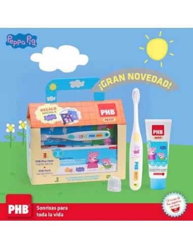 Phb  Pepa Pig Pack Cepillo+ Pasta+ Taza Pepa
