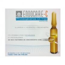 Endocare-C Proteoglicanos Oil Free 30 Ampollas