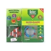 Relec Pulsera Antimosquitos Click Clack Pez