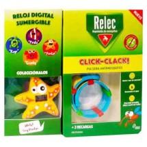 Relec Pulsera Antimosquitos Click Clack Estrella