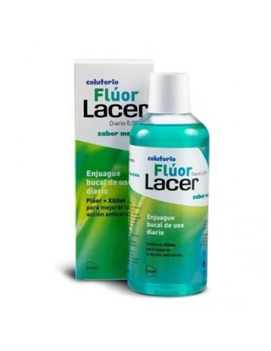 Fluor Lacer Diario Menta 0.05% 500 mL