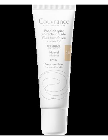 Avene Couvrance Maquillaje Fluido 30ml 2.5 SPF 20