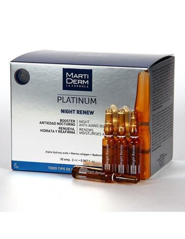 Martiderm Night Renew 30 Ampollas