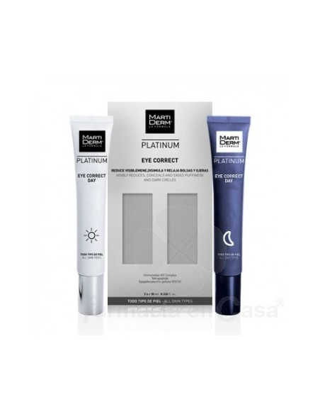 Martiderm Platinum Eye Correct 2x10 ML